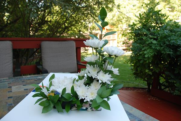 White Centerpiece Flowers