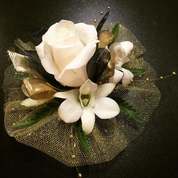Gold Corsage