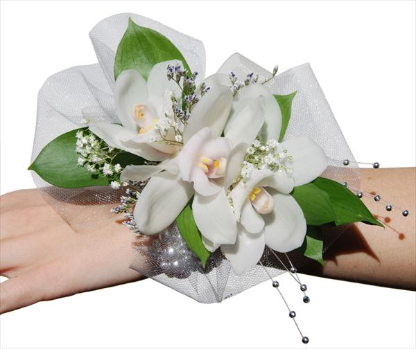 Three Orchids Corsage
